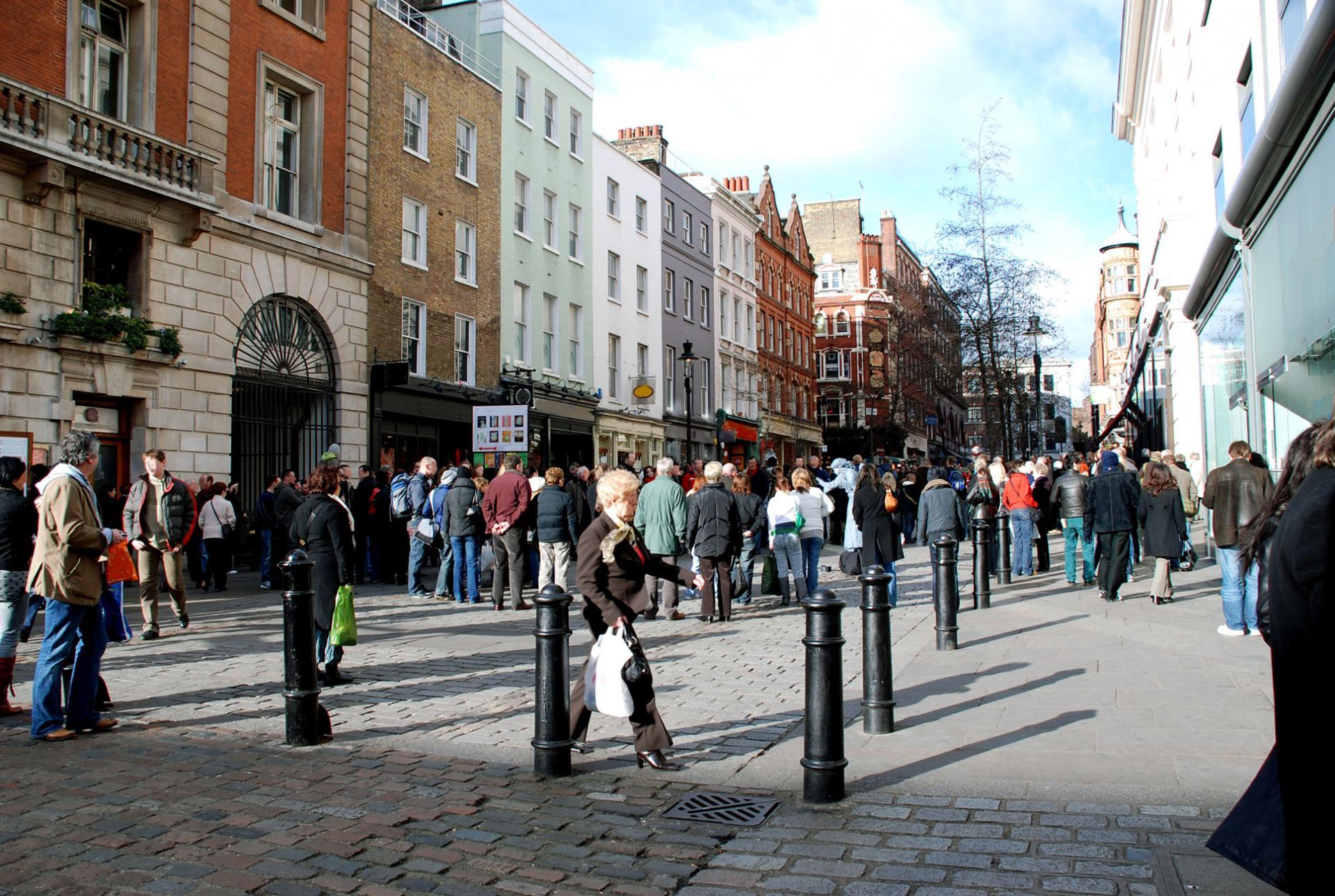 De compras en Londres: Covent Street