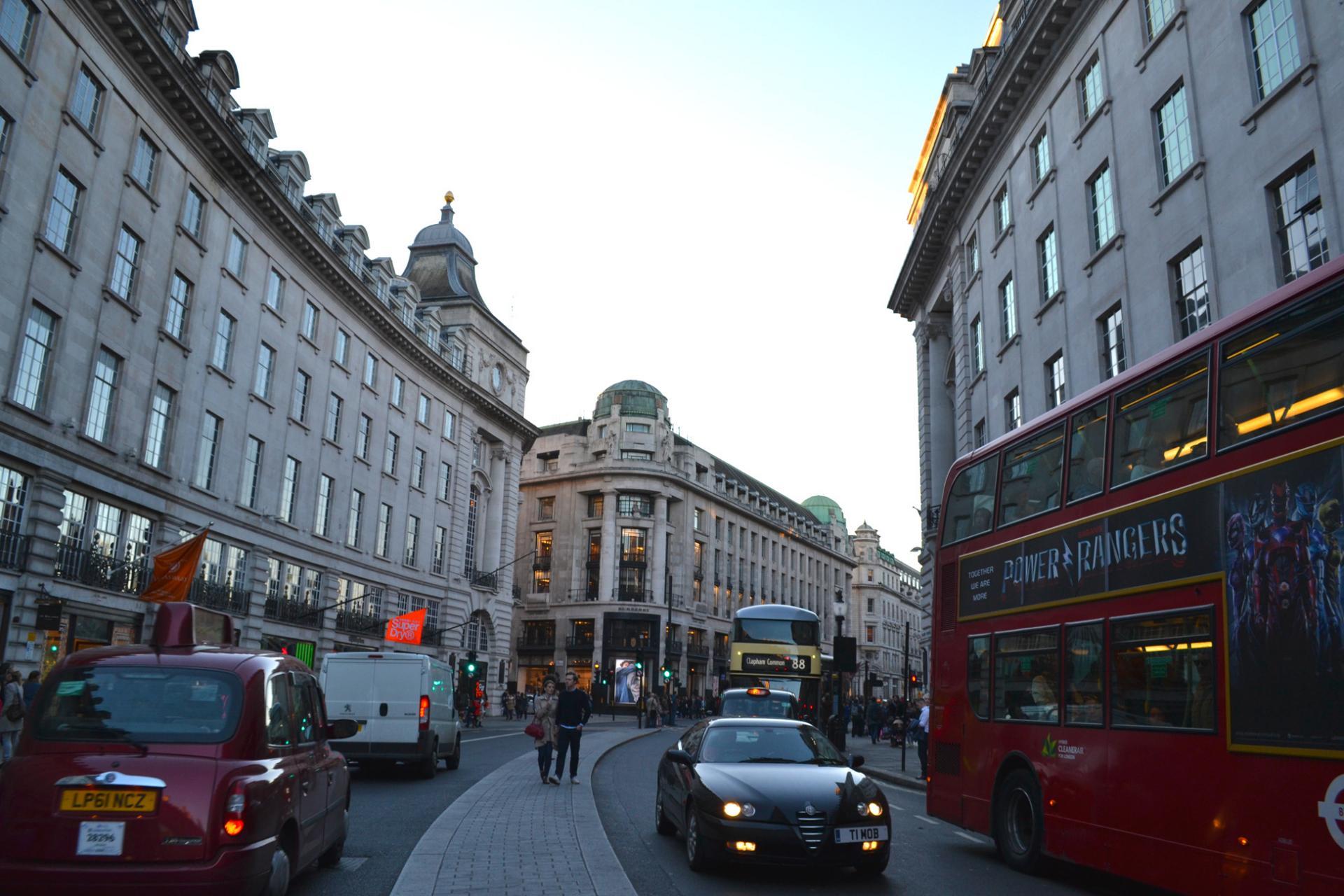 Regent Street Shopping London