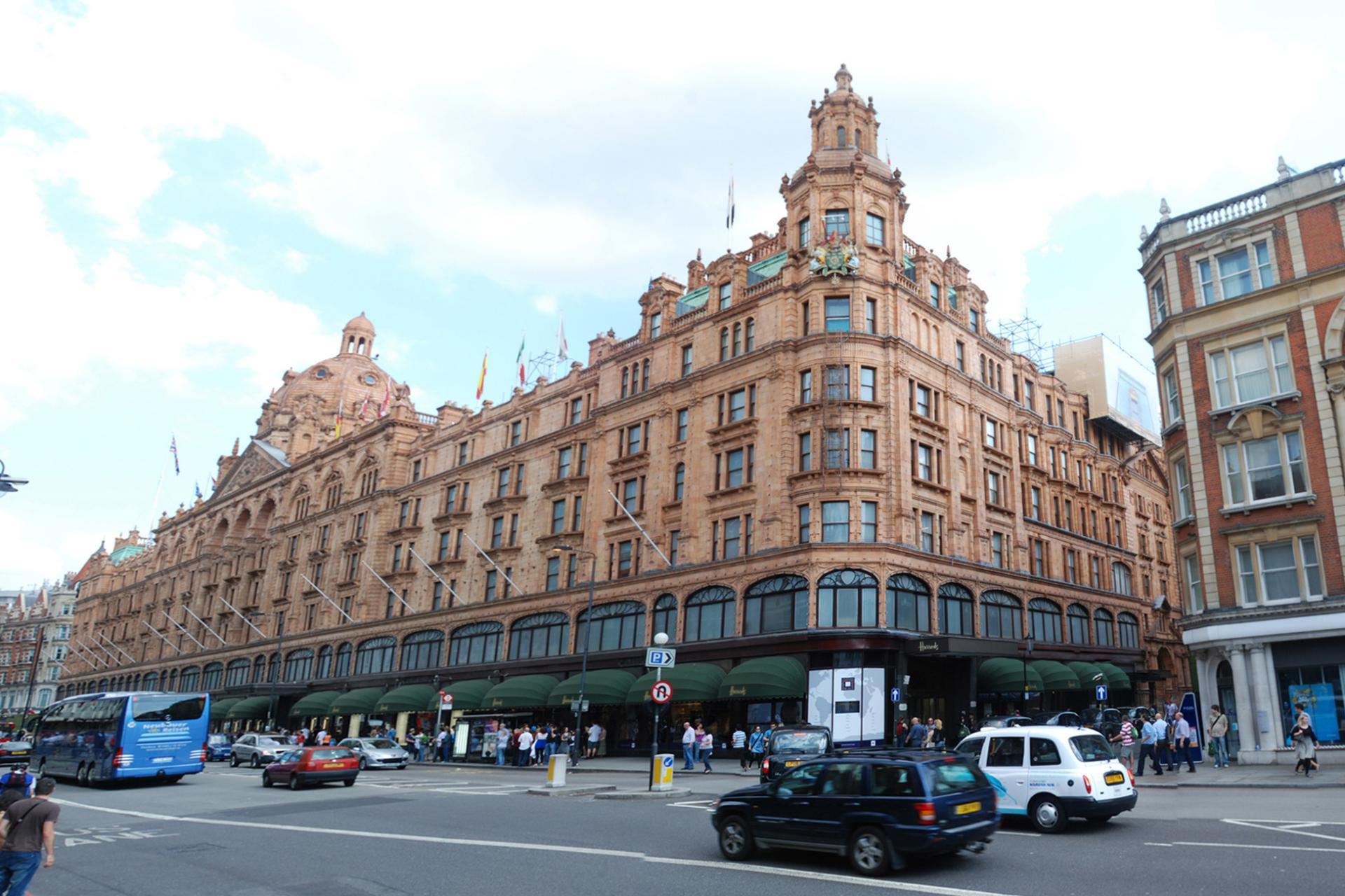 Zonas de compras en Londres: Harrods