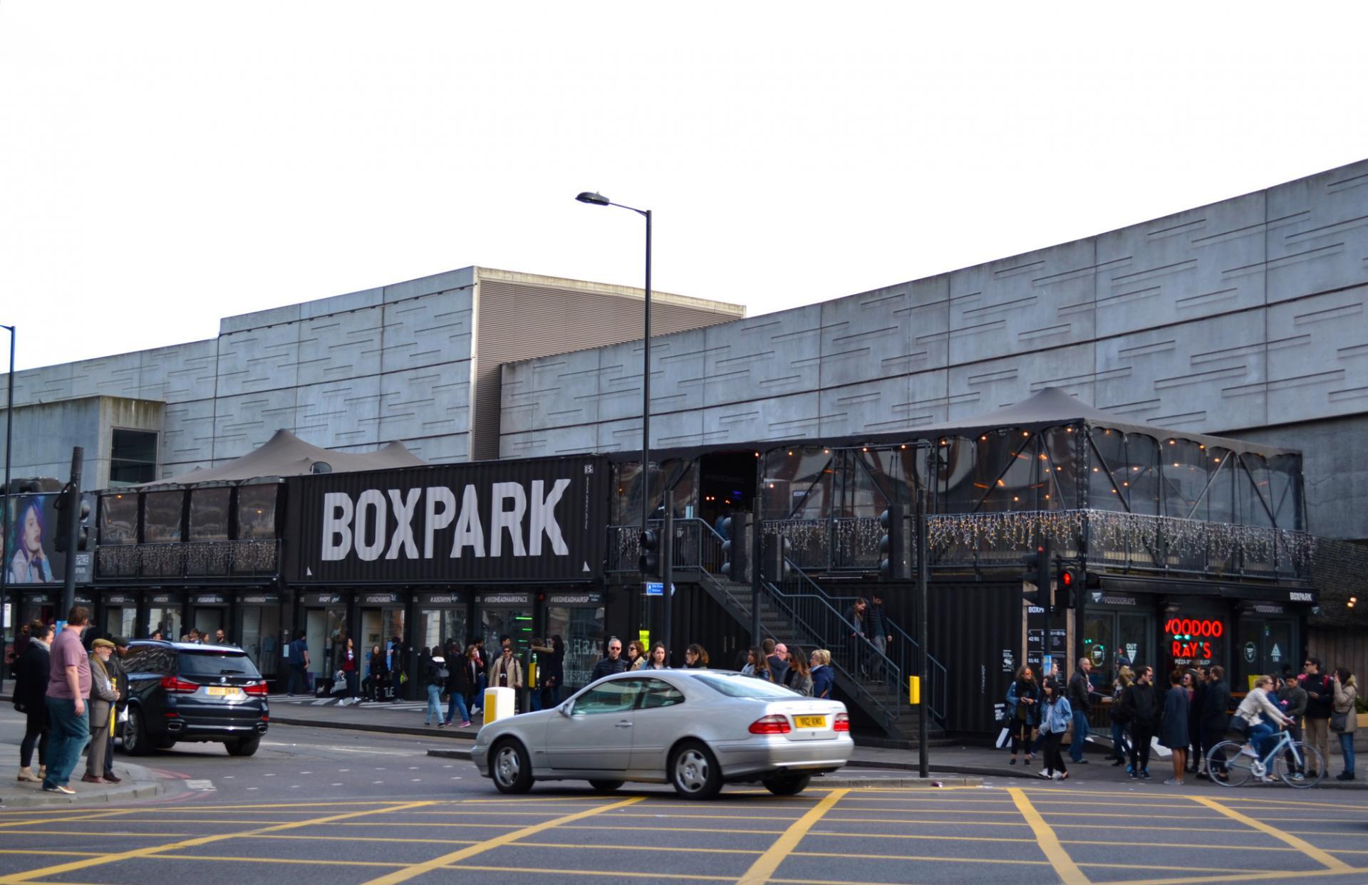 Tiendas en Londres: Boxpark