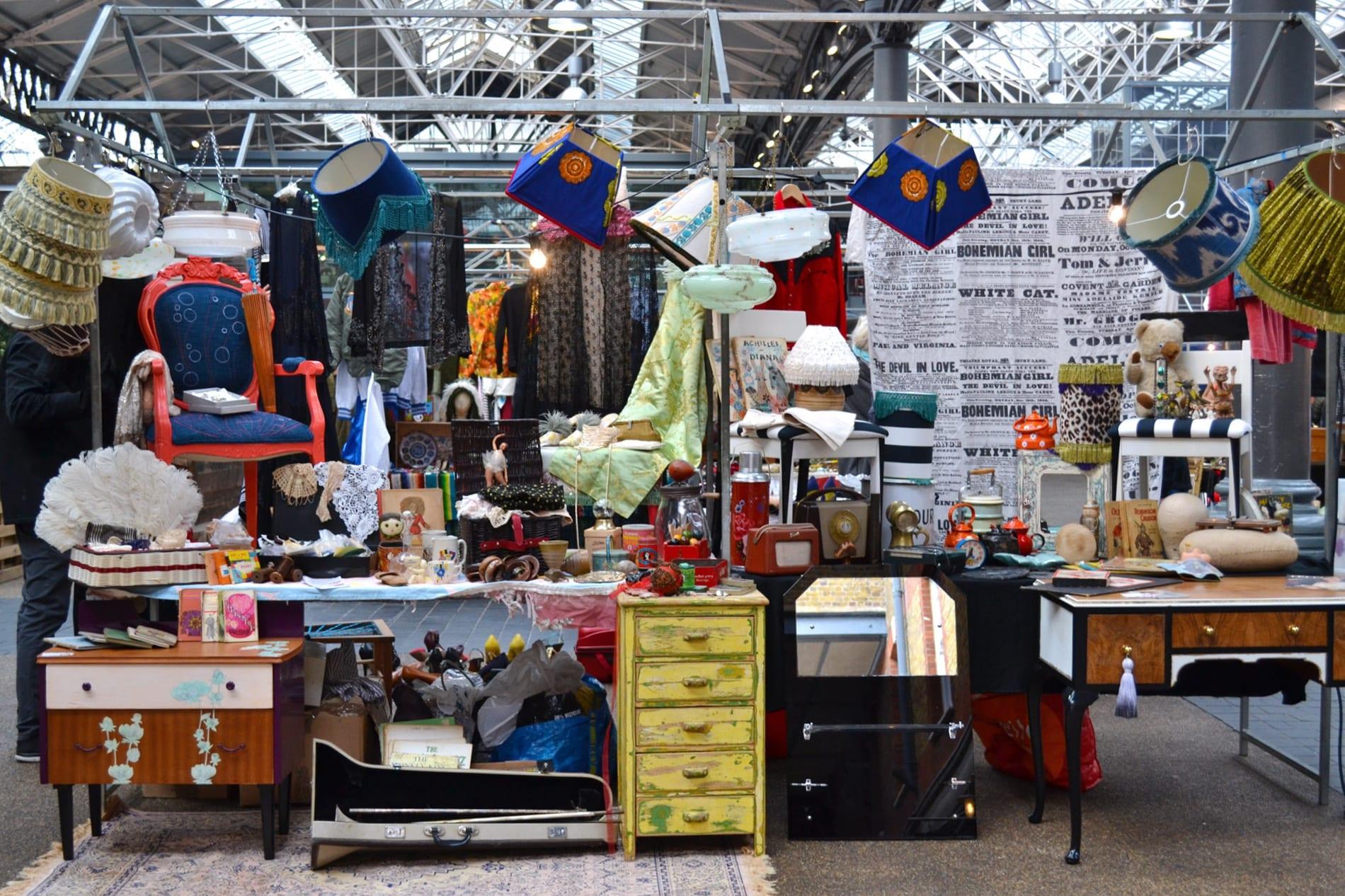 El Spitalfields Market en Londres
