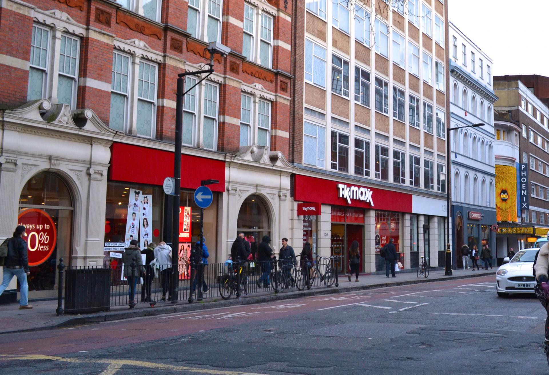 Tk Maxx en Londres