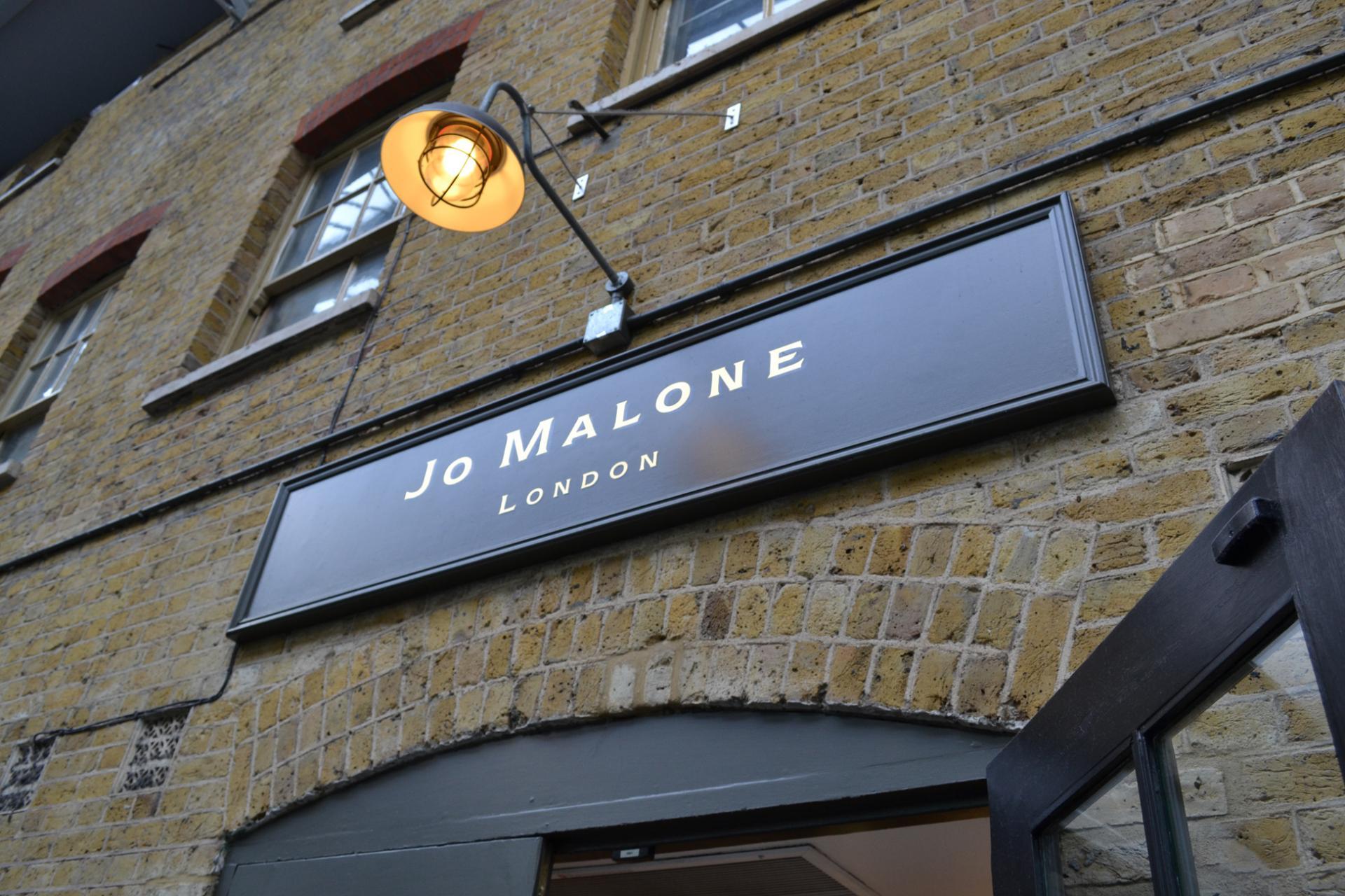 Jo Malone en el Spitalfields Market