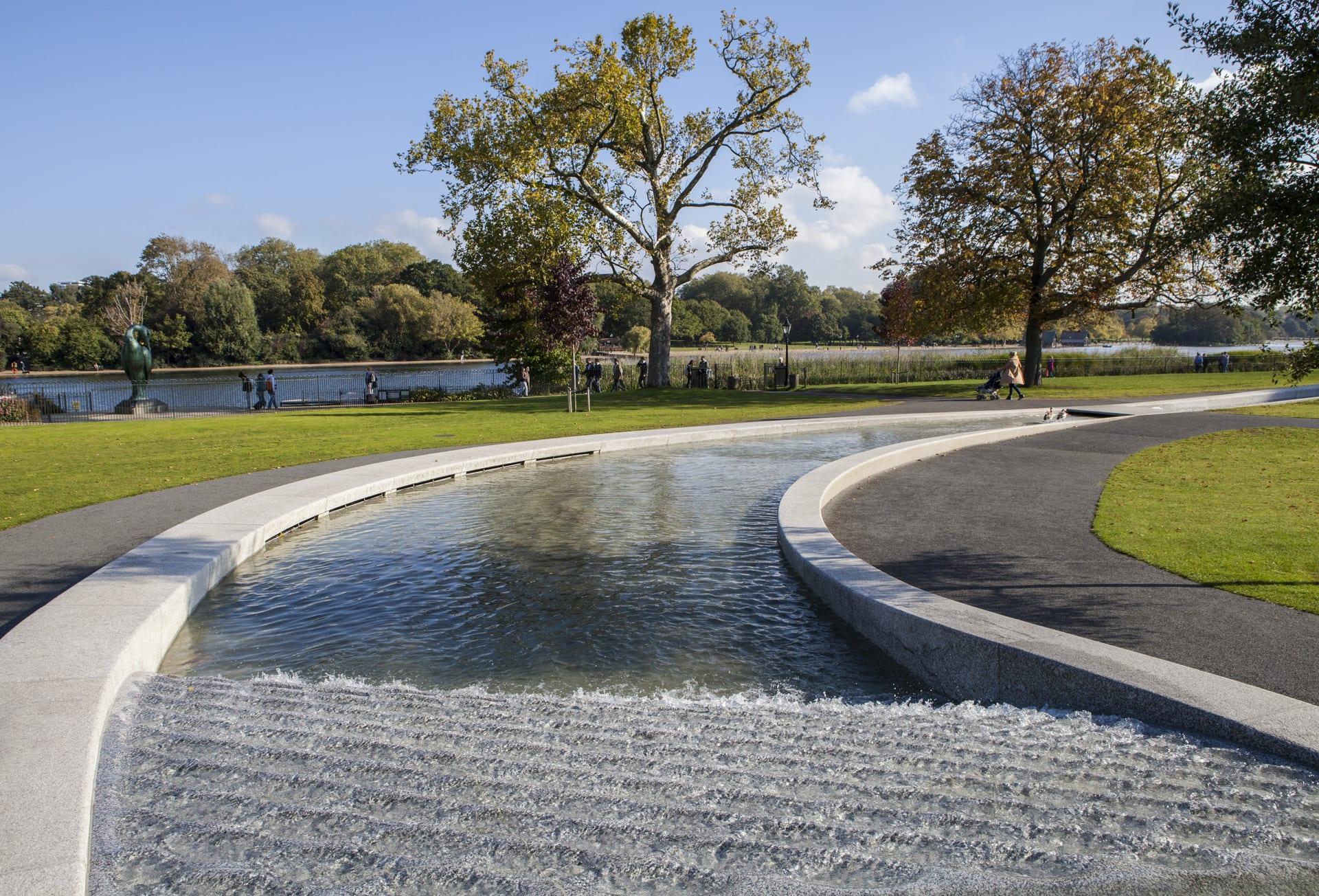 Hyde Park Londres: Princess Diana Memorial