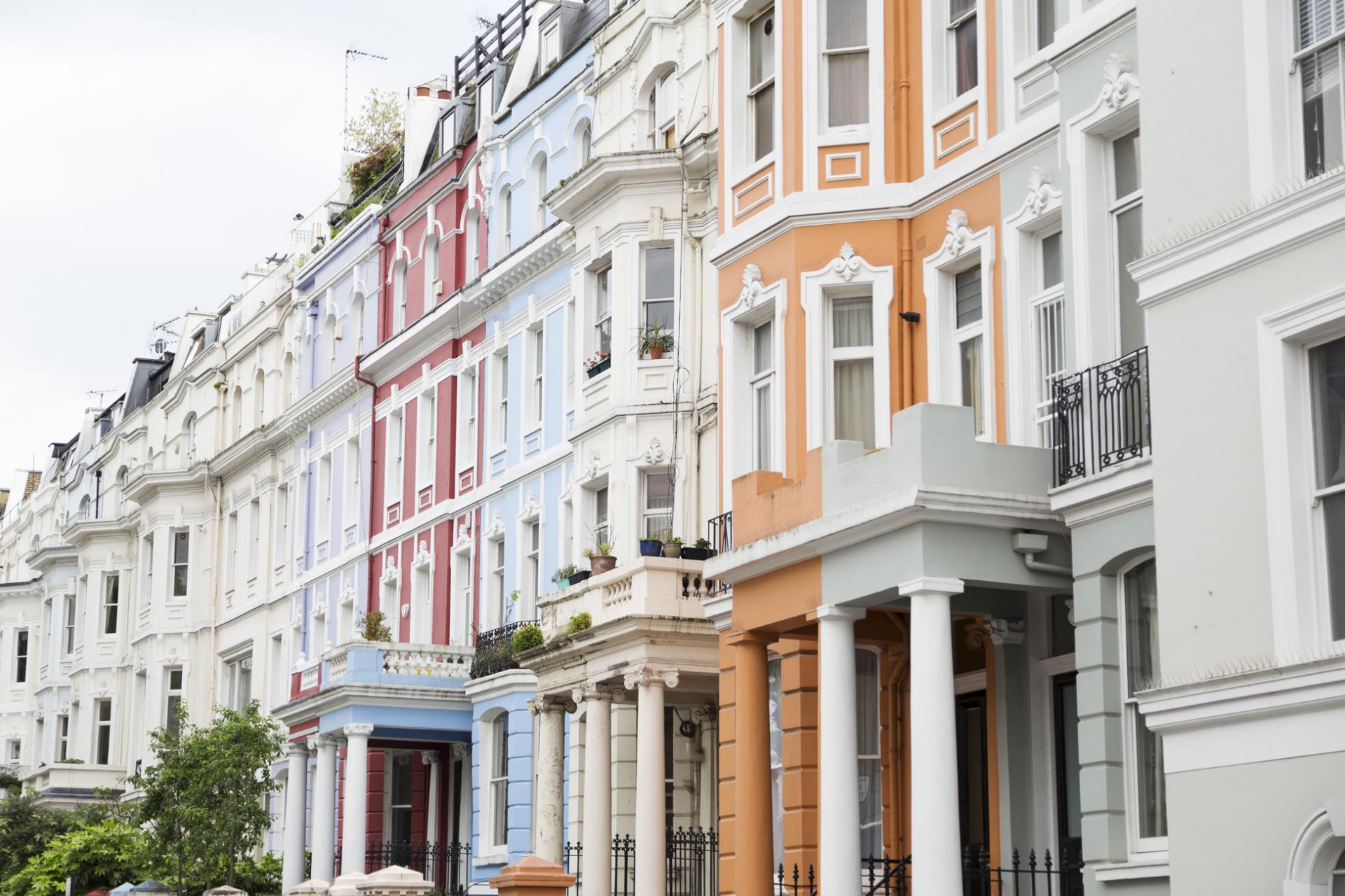 Nothing Hill en Londres