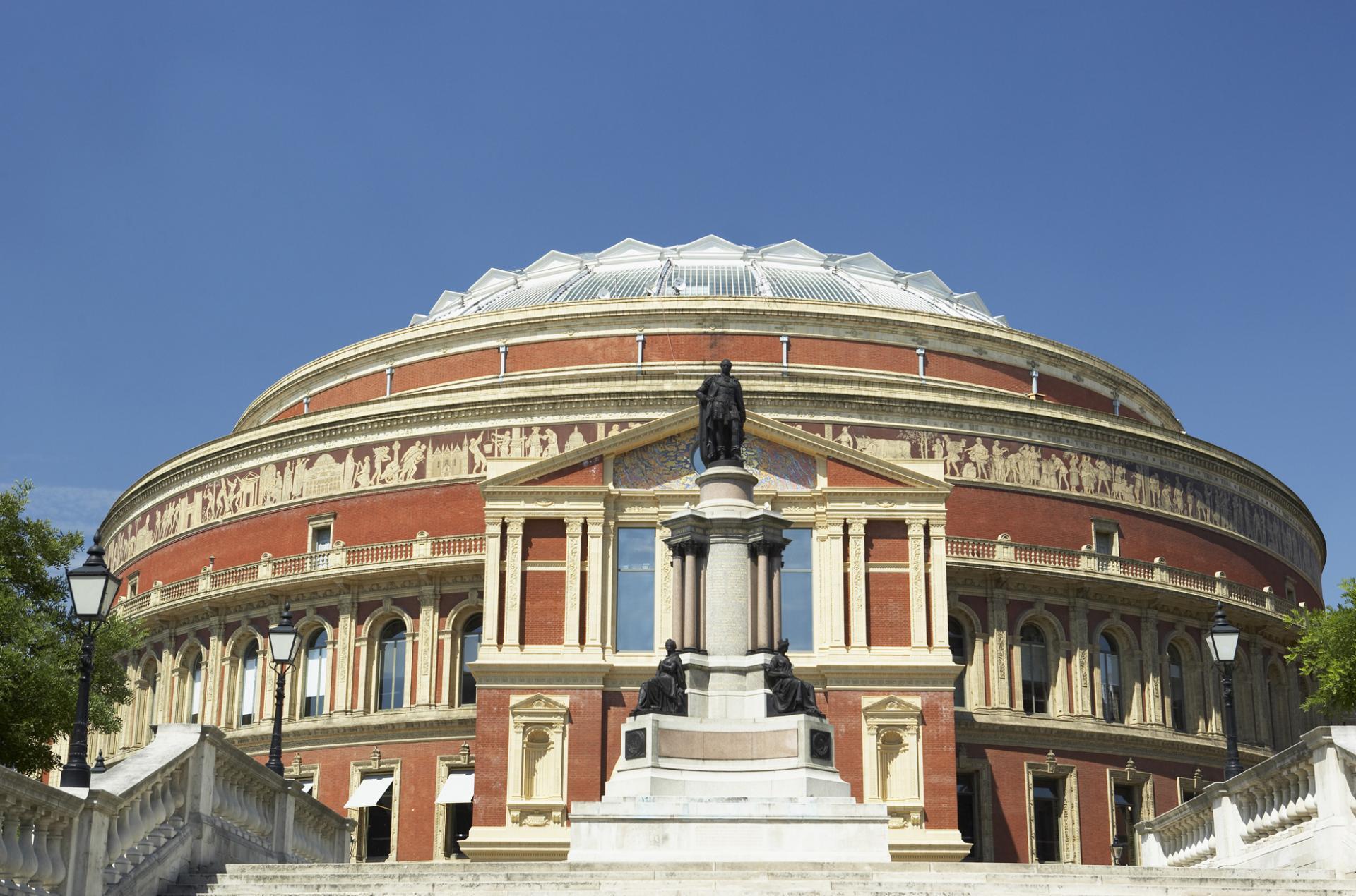 Royal Albert Hall en Kensington Gardens