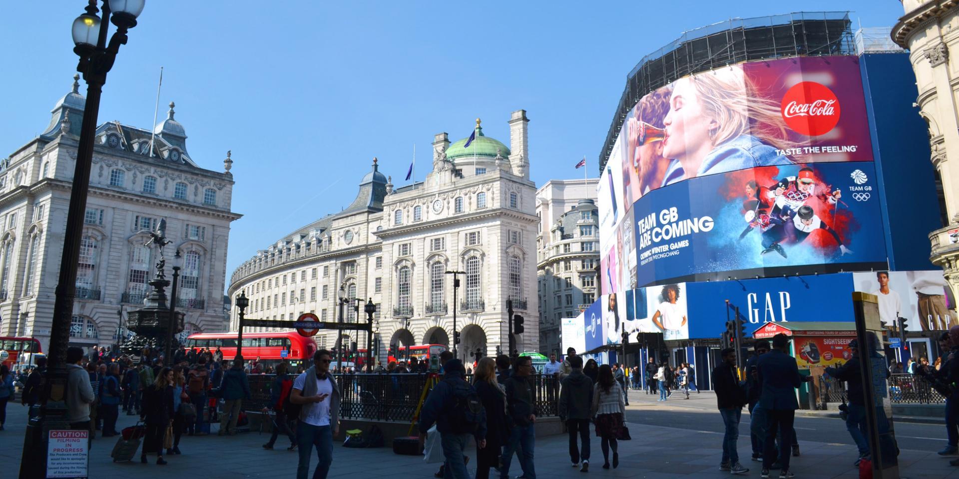 Londres en tres días: Piccadilly Circus