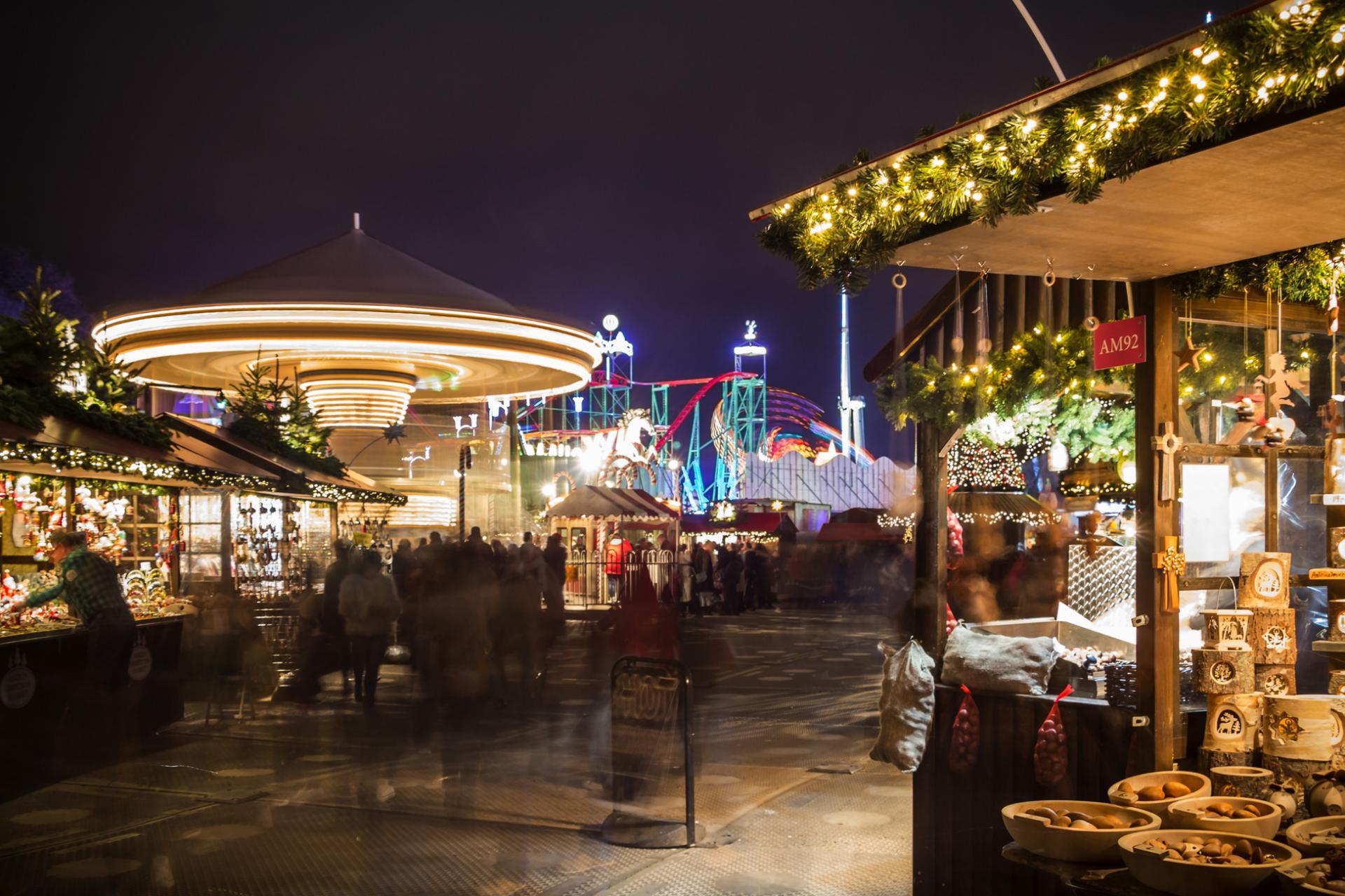 Mercadillos navideños en Londres