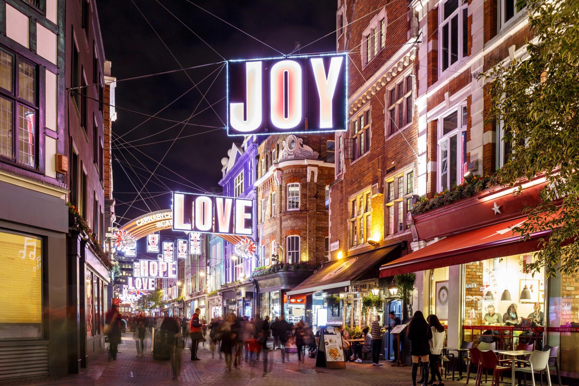 Luces de Navidad de Londres
