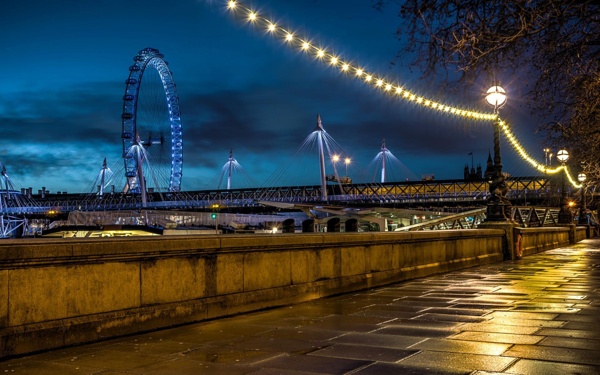 El London Eye en Halloween, Londres