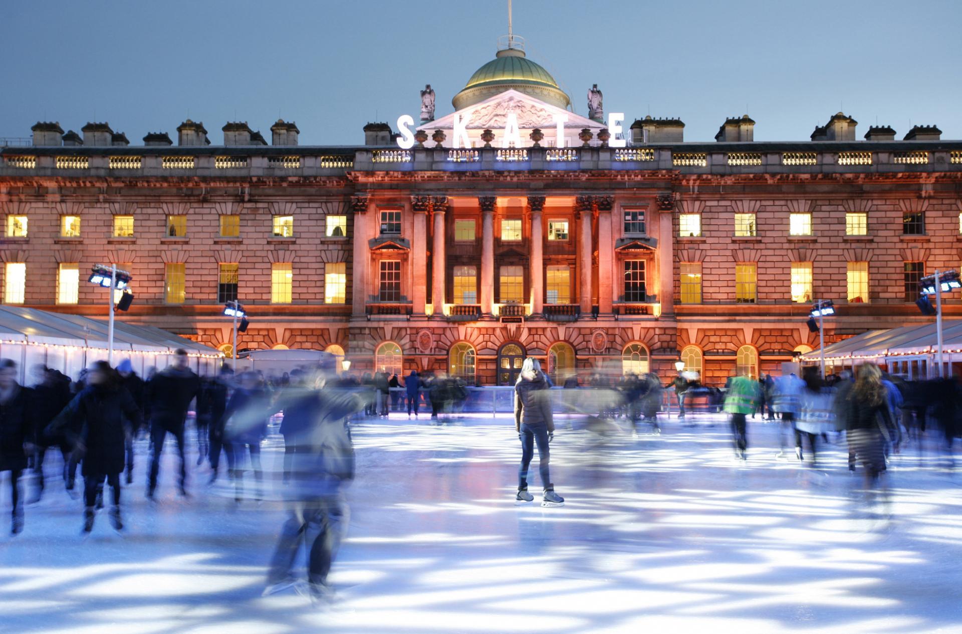 Pista de hielo en Londres