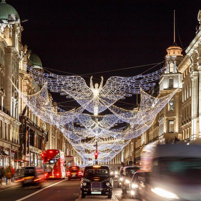 Las luces de Navidad en Londres