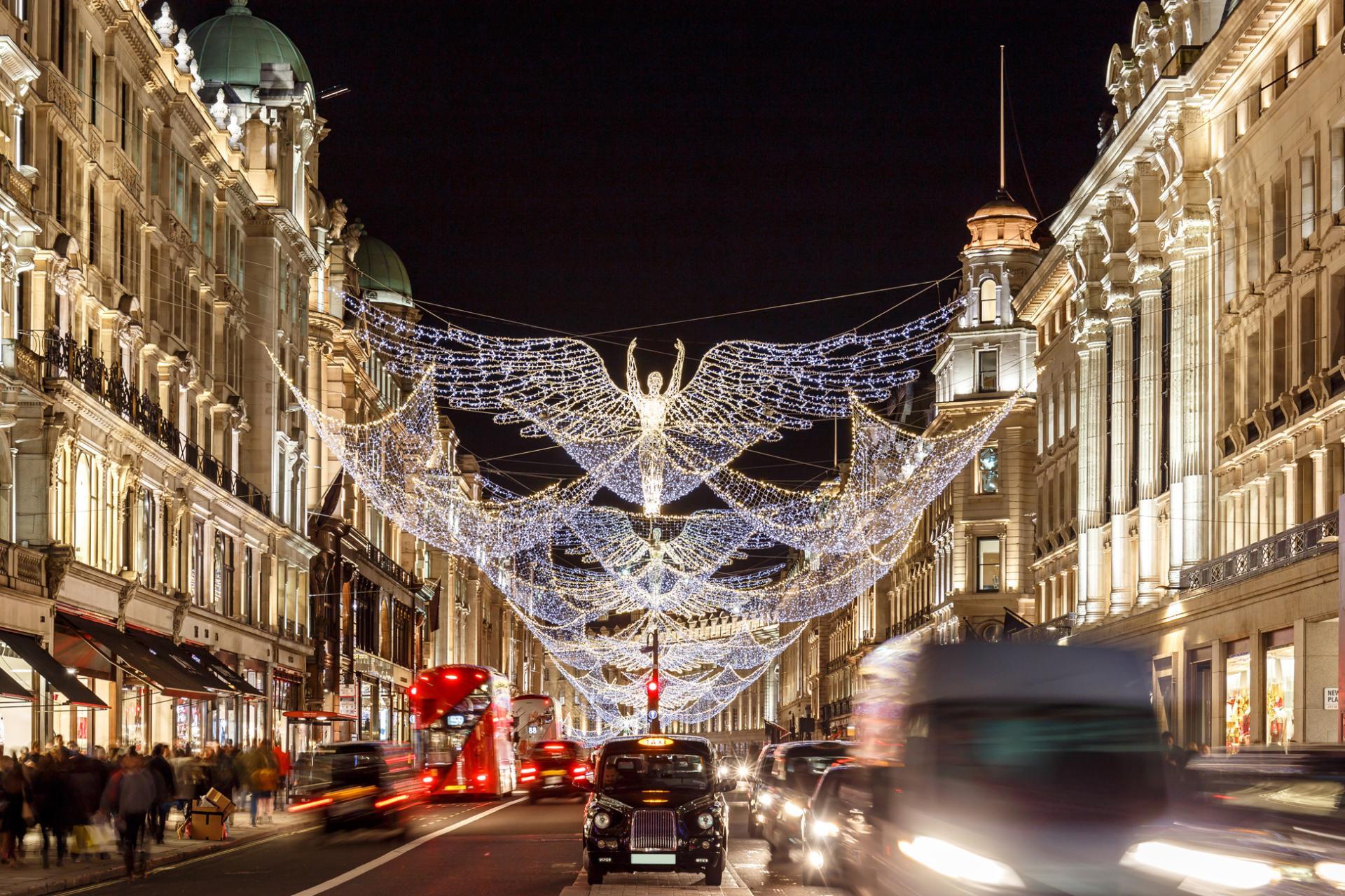 Navidad en Londres: Regent Street