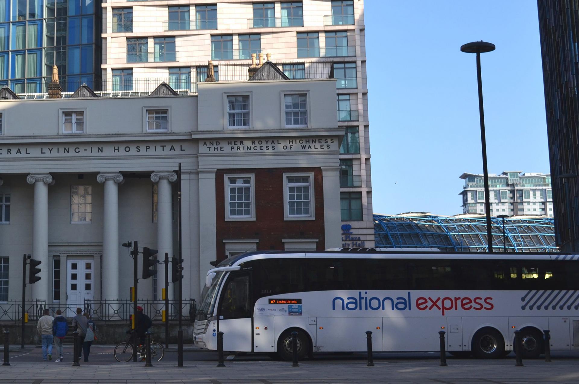 Autobus Luton Londres