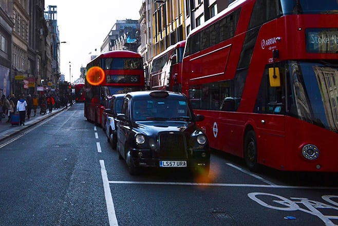 Taxi de Luton a Londres