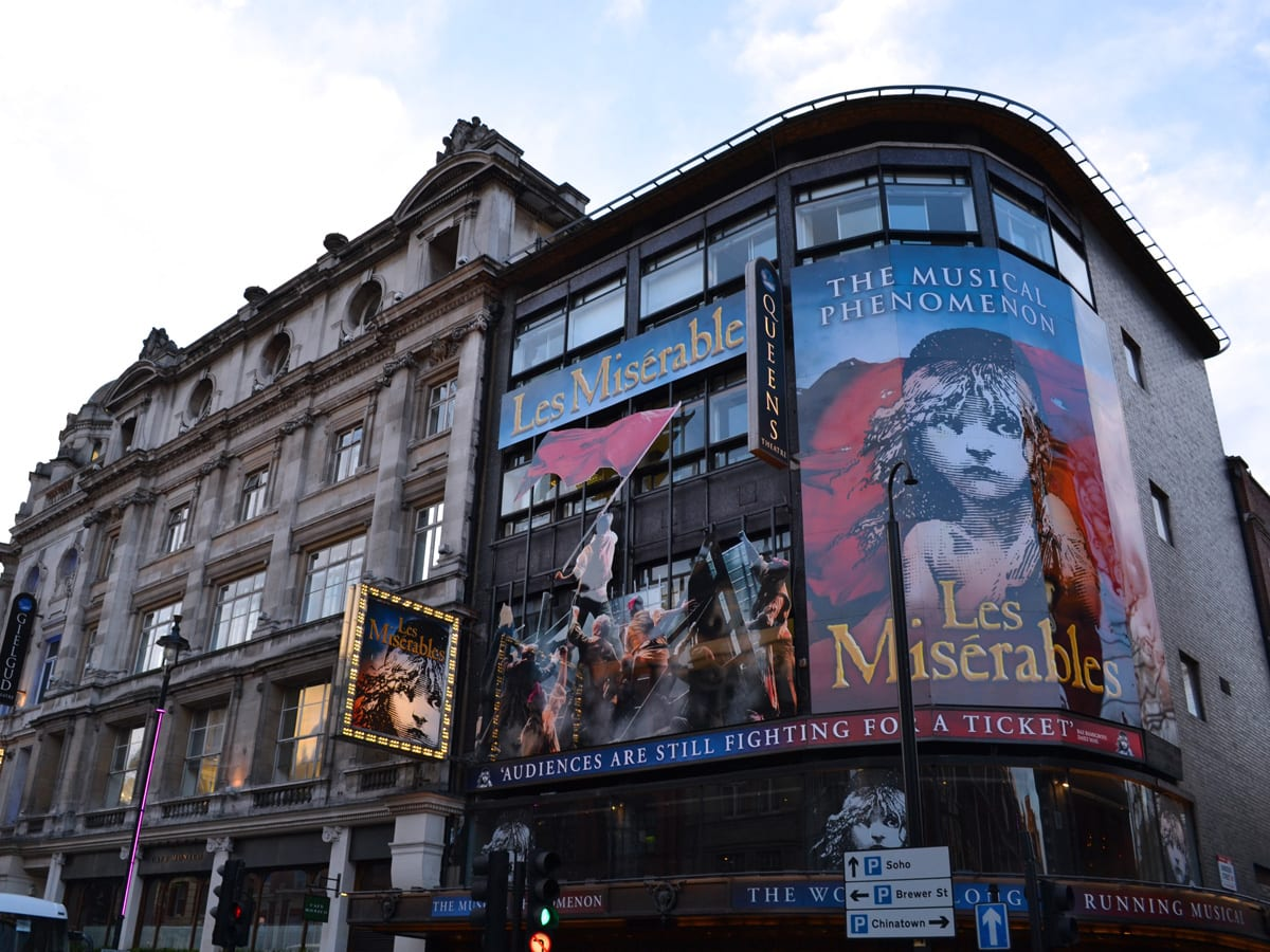 Los Miserables en Londres