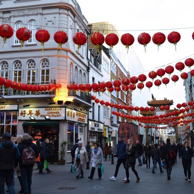 El Año Nuevo Chino en Londres