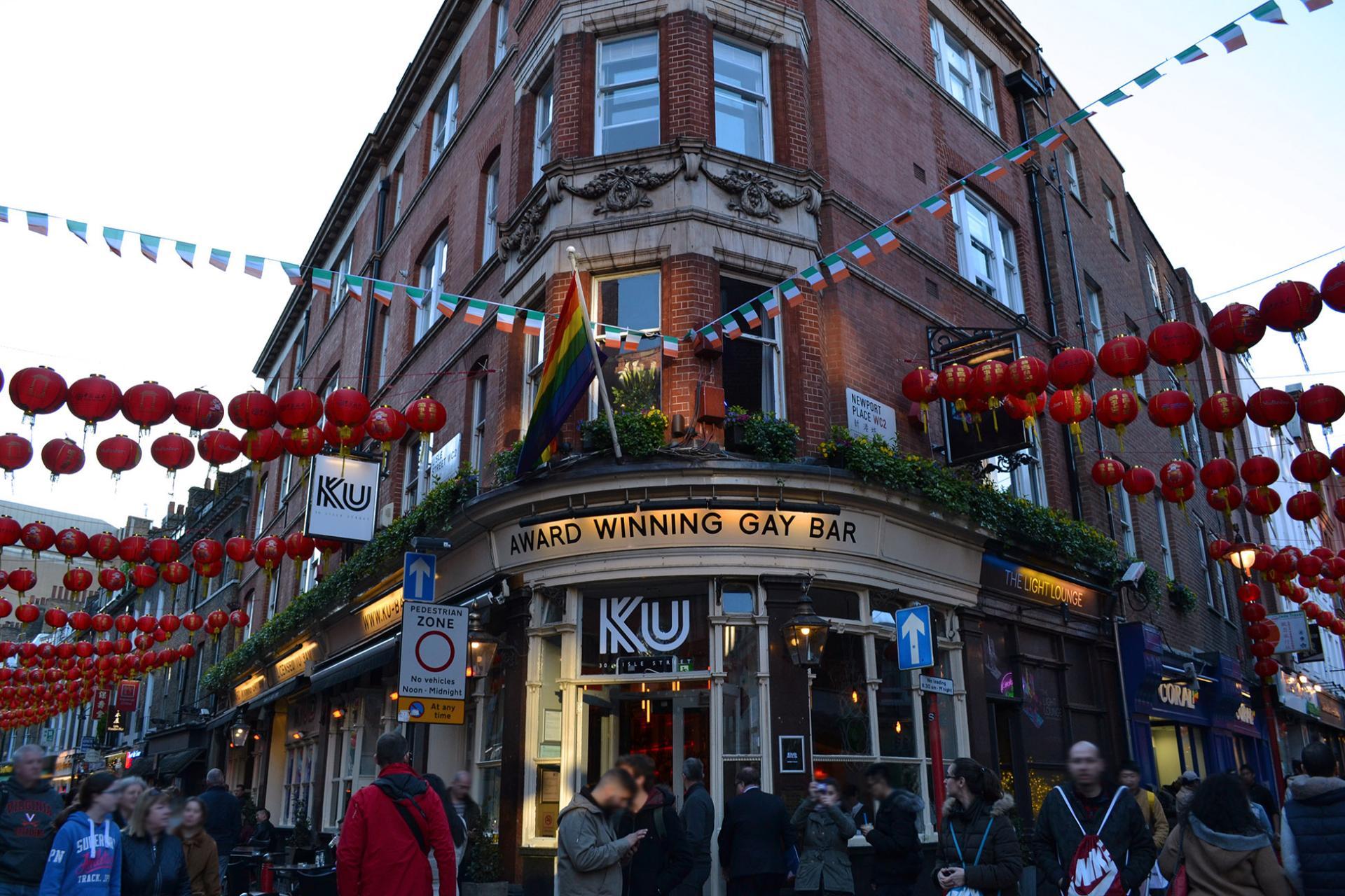 Ku Bar Gay en Londres, Chinatown