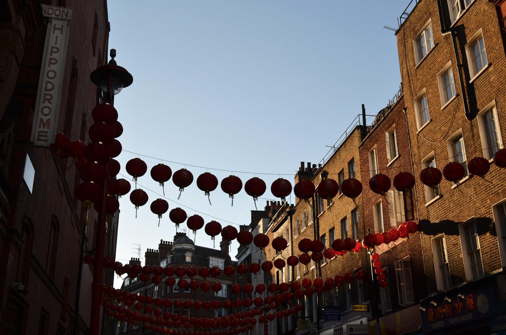 London Hippodrome. Chinatown en Londres
