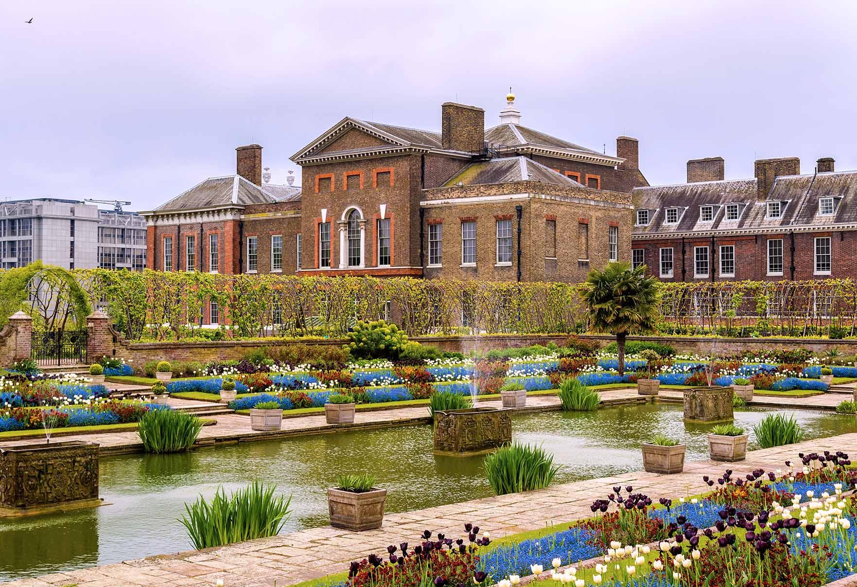 Jardines del Palacio de Kensington en Londres