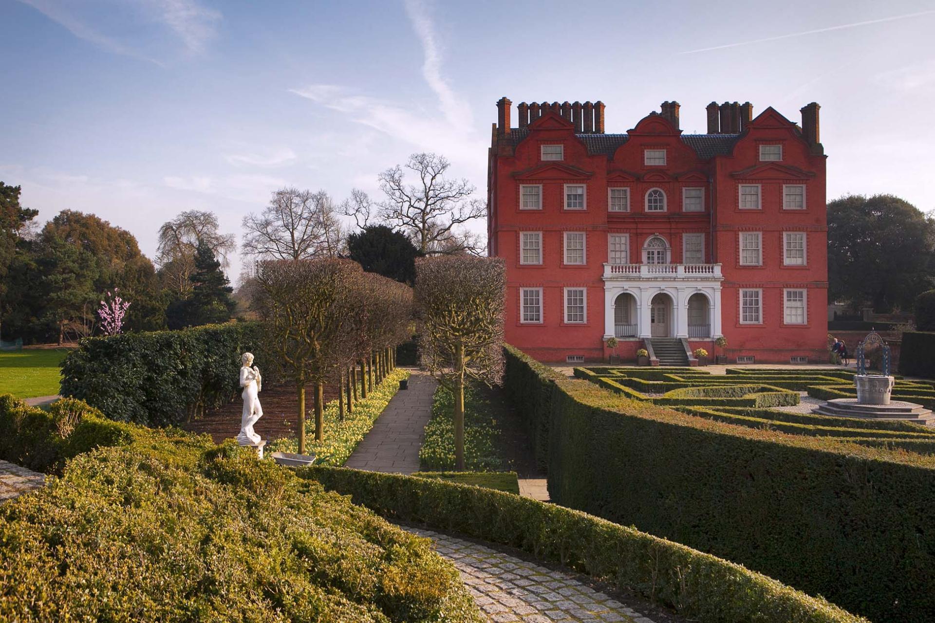 Palacios de Londres: Kew Palace en los Kew Gardens