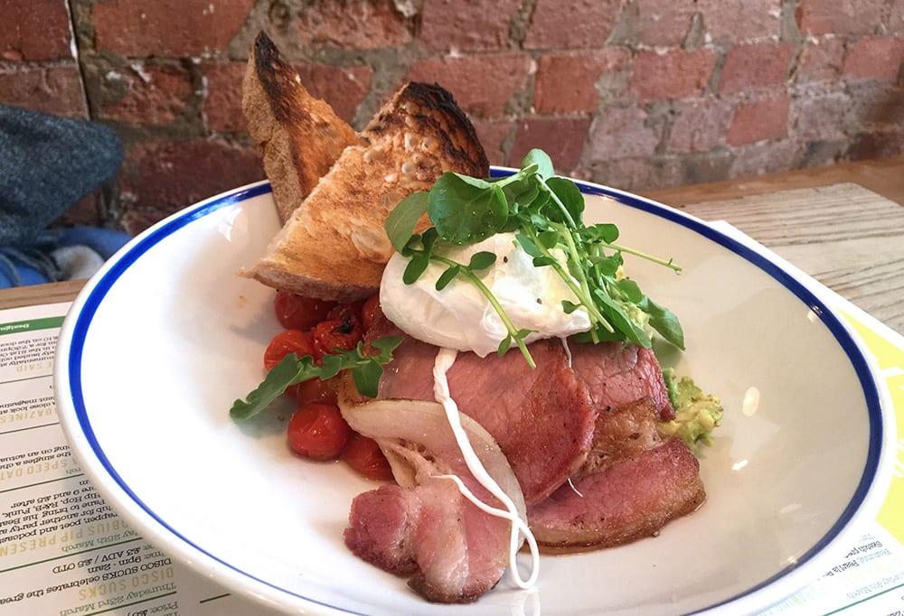 Desayunar en Londres: The Book Club