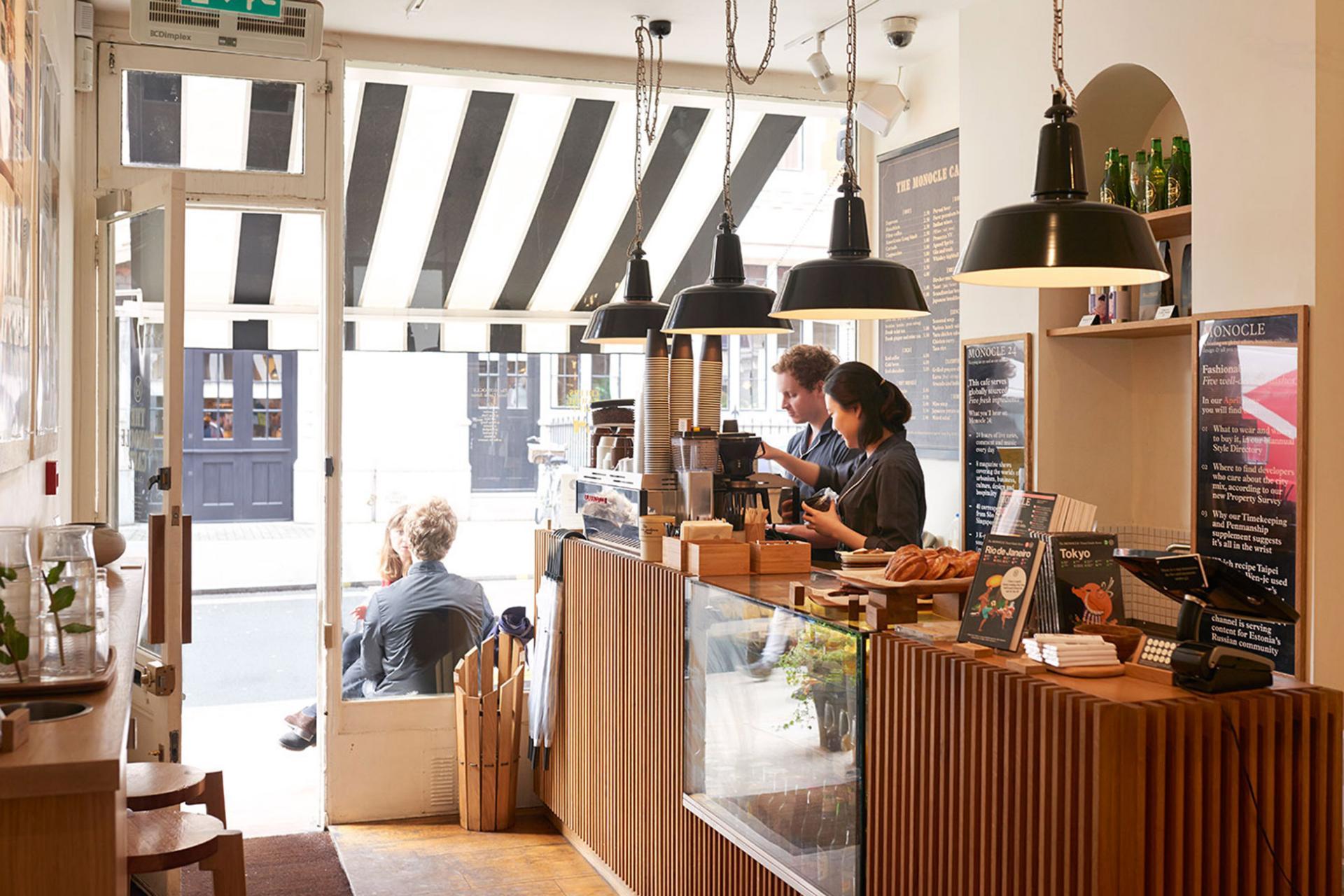 Desayunos en Londres: Monocle Café en Marylebone