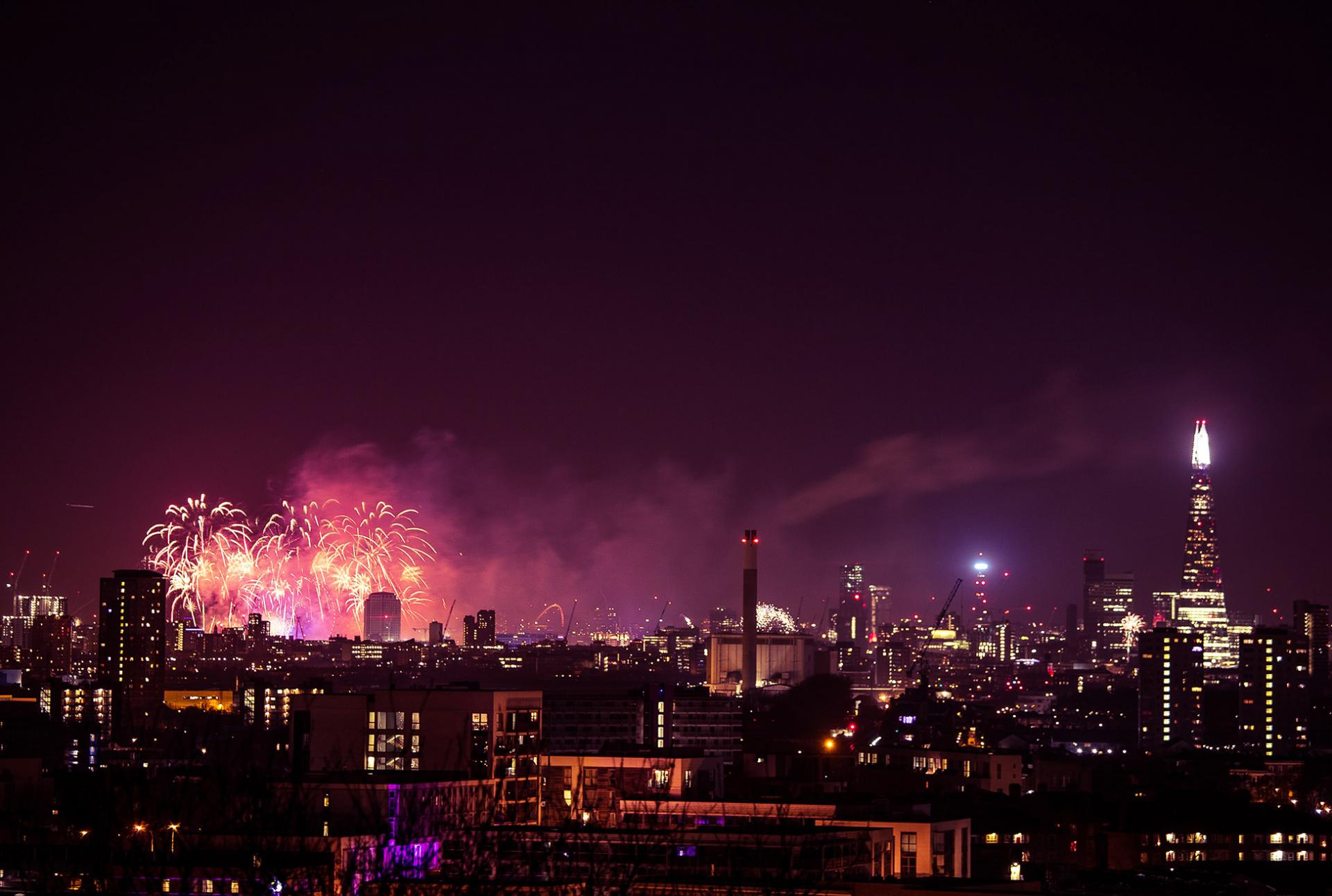 Bonfire Night, Eventos en Londres