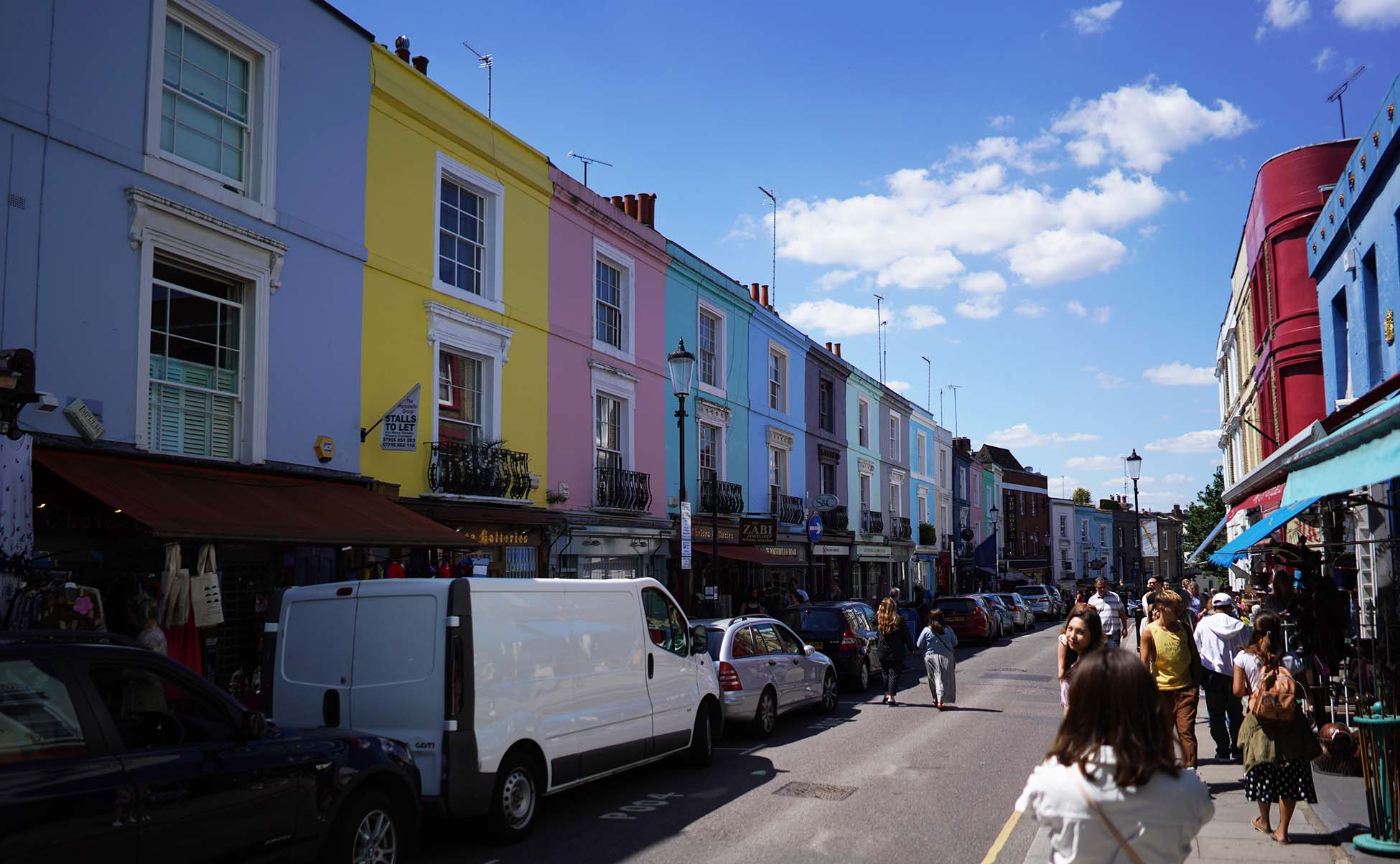 Portobello Road Market en Notting Hill