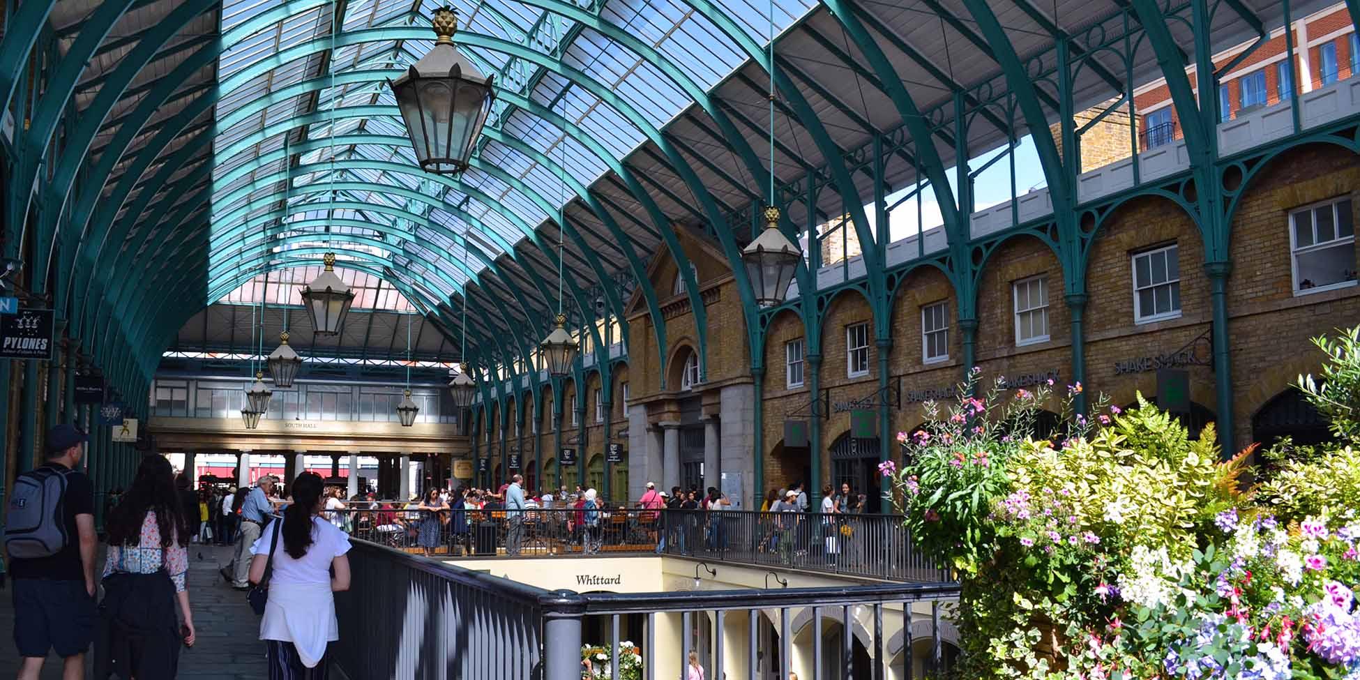 El mercado de Covent Garden en Londres
