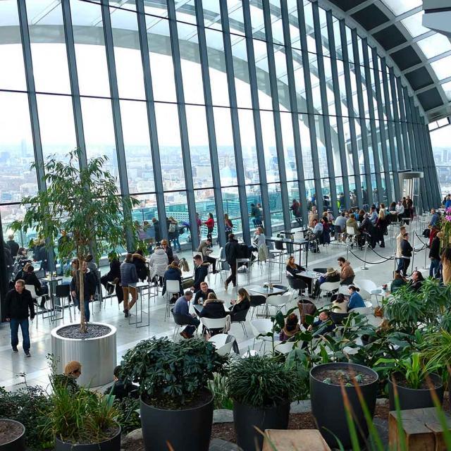 El Sky Garden en Londres