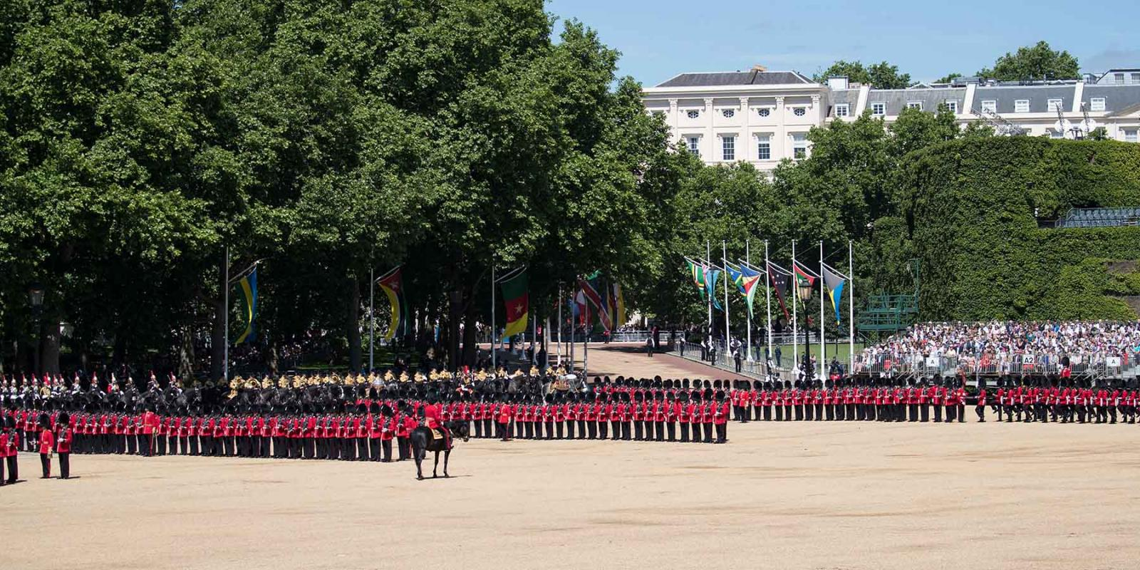 Ceremonia del Trooping the Colour en Londres – Información 2019