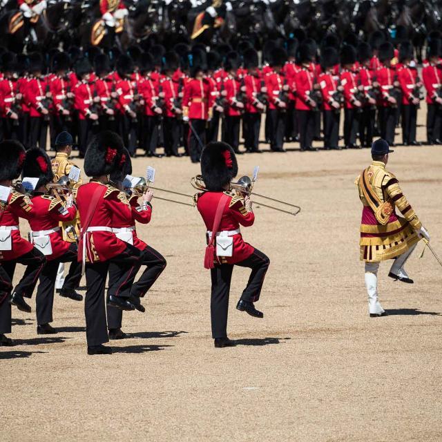 El Trooping the Colour en Londres