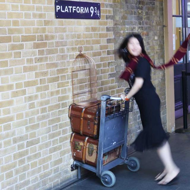 Platform 9 3/4 – El andén de Harry Potter en Londres