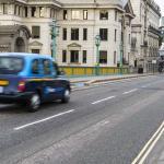 Coger un taxi en Londres